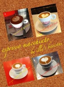espresso acchiato by illy's baristas